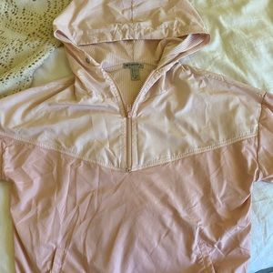 Pink activewear pullover